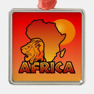アフリカのオーナメント メタルオーナメント
