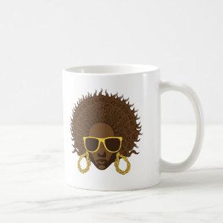 アフリカのカッコいい コーヒーマグカップ