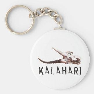 アフリカのカラハリ砂漠: 死んだカモシカのスカル キーホルダー