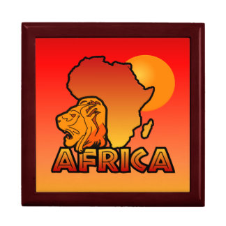 アフリカのギフト用の箱 ギフトボックス