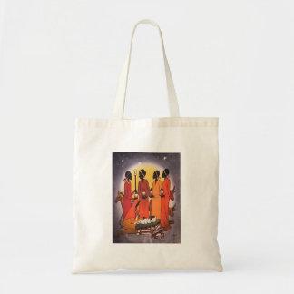 アフリカのクリスマスの出生場面 トートバッグ