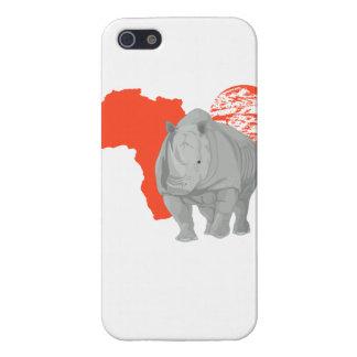 アフリカのサイ iPhone 5 ケース