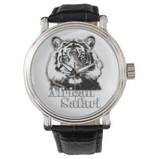 アフリカのサファリの腕時計 腕時計