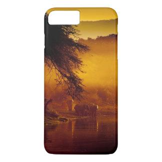 アフリカのサファリの電話箱 iPhone 8 PLUS/7 PLUSケース