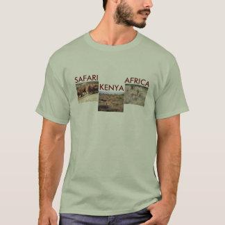 アフリカのサファリ、ケニヤ Tシャツ