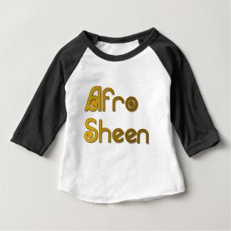 アフリカのシーンSist-の金ゴールド ベビーTシャツ