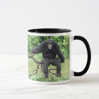 アフリカのチンパンジー マグカップ