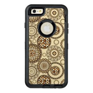 アフリカのチータの皮パターン3 オッターボックスディフェンダーiPhoneケース