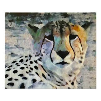 アフリカのチータ ポスター