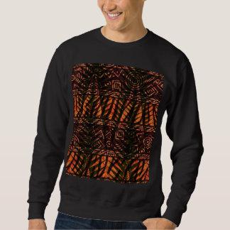 アフリカのデザイン スウェットシャツ