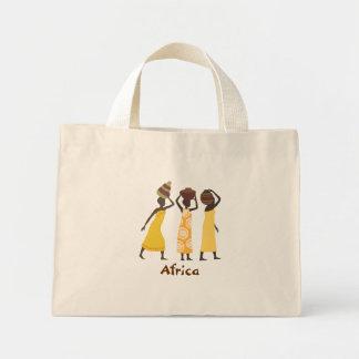 アフリカのトートバック ミニトートバッグ