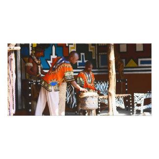 アフリカのドラムビート カード