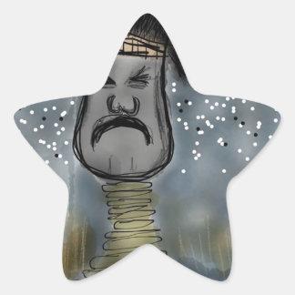 アフリカのハンター 星シール