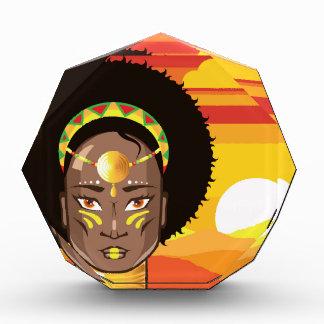 アフリカのプリンセス 表彰盾