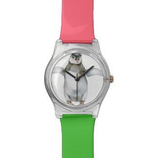 アフリカのペンギンのひよこ 腕時計