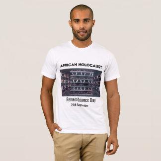 アフリカのホロコーストの記憶 Tシャツ