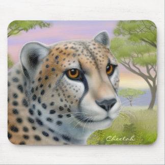 アフリカのマウスパッドのチータ マウスパッド