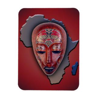 アフリカのマスク マグネット