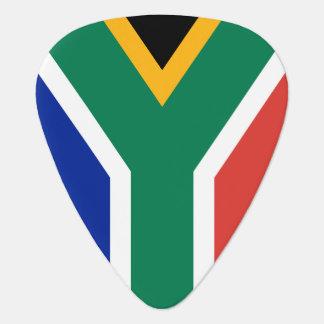 アフリカのミュージシャンのための南アフリカ共和国の旗のギターの一突き ギターピック