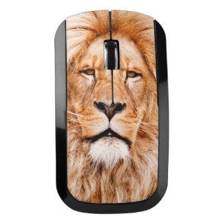 アフリカのライオンの野性生物の動物のクローズアップのポートレート ワイヤレスマウス