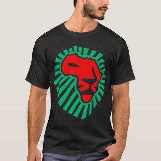 アフリカのライオンの頭部のwaka-waka。 (2側面) tシャツ