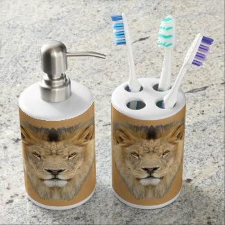 アフリカのライオン バスセット