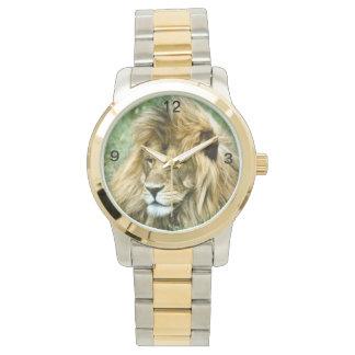 アフリカのライオン 腕時計