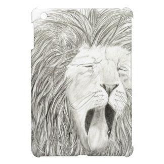 アフリカのライオン; 野性生物のアートワークのコレクション iPad MINIケース