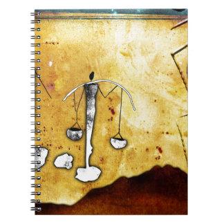 アフリカのレトロのヴィンテージのスタイルのギフト ノートブック