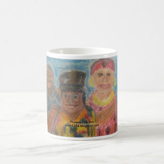 アフリカの伝統 コーヒーマグカップ