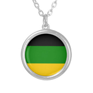 アフリカの全国大会ANC南アフリカ共和国 シルバープレートネックレス