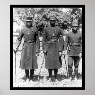 アフリカの出生の警官1902年 ポスター