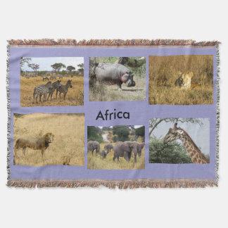 アフリカの動物 スローブランケット
