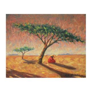 アフリカの午後2003年 ウッドウォールアート