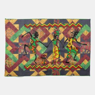 アフリカの台所手タオル キッチンタオル