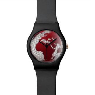 アフリカの地図の腕時計 腕時計