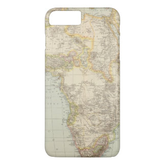 アフリカの地図書の地図 iPhone 8 PLUS/7 PLUSケース