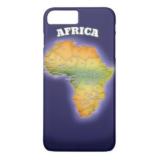アフリカの地図 iPhone 8 PLUS/7 PLUSケース