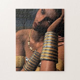 アフリカの女性 ジグソーパズル
