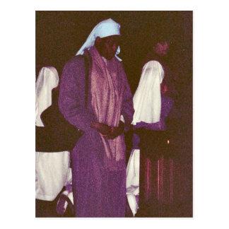 アフリカの尼僧、ローマへの巡礼者 ポストカード