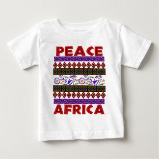 アフリカの平和 ベビーTシャツ