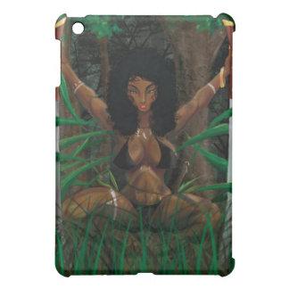 アフリカの戦士 iPad MINIケース