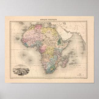 アフリカの政治 ポスター