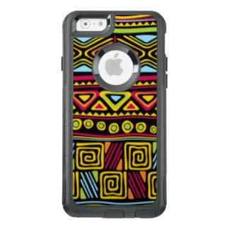 アフリカの数々のな色パターンプリントのデザイン オッターボックスiPhone 6/6Sケース