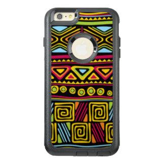アフリカの数々のな色パターンプリントのデザイン オッターボックスiPhone 6/6S PLUSケース