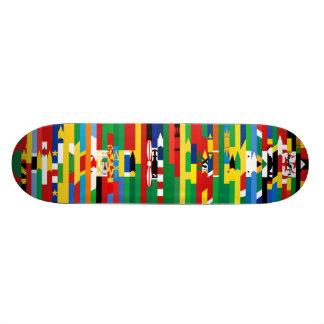 アフリカの旗のスケートボード 19.7CM スケートボードデッキ