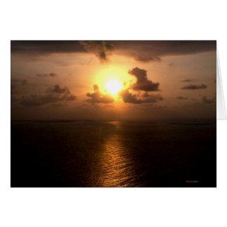 アフリカの日没3 カード