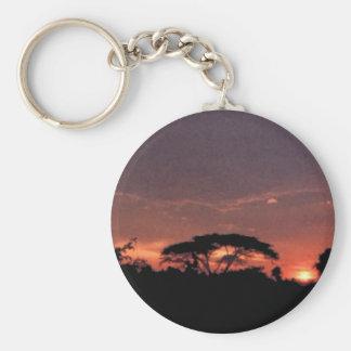 アフリカの日没 キーホルダー