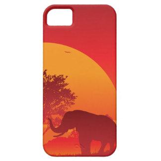 アフリカの日没 iPhone SE/5/5s ケース