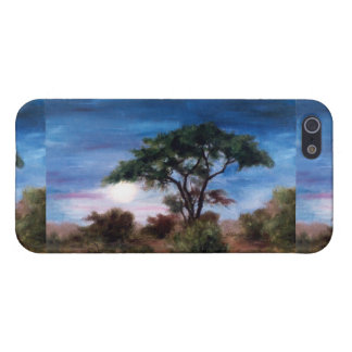 アフリカの月のIphone 4ケース iPhone 5 ケース